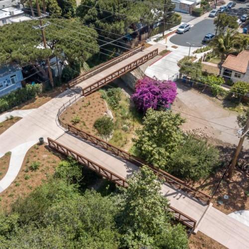 Cacique & Soledad Pedestrian/Bicycle Bridges & Corridor Improvement Project
