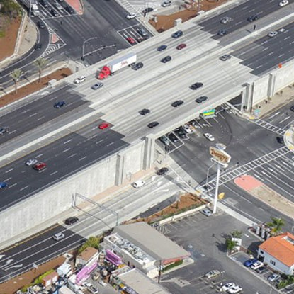 I-5 HOV Improvement Project between Avenida Pico and Avenida Vista Hermosa
