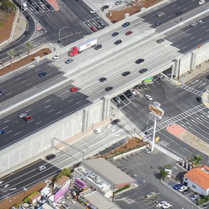 I-5 HOV Improvement Project between Avenida Pico and Avenida Vista Hermosa