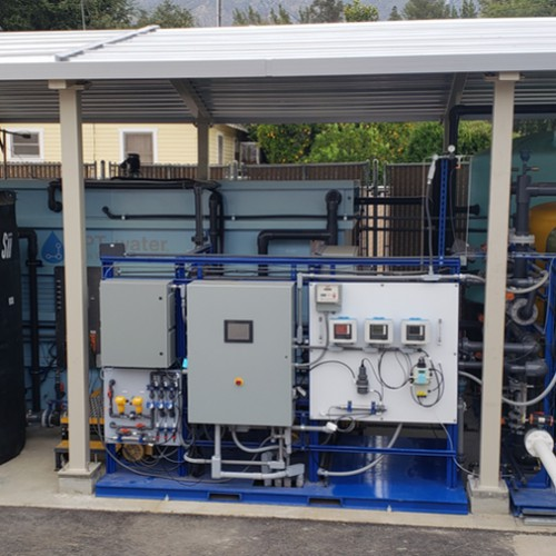 New Biological Nitrate Removal Treatment Facility & Reactivation of Well No. 2