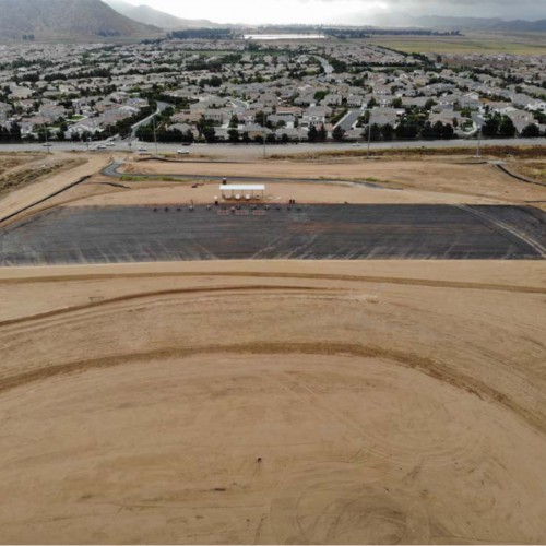 Menifee Landfill Final Cover and Drainage Remediation